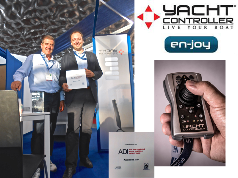 Adi Award For The New Remote Control En-joy By Yacht Controller
