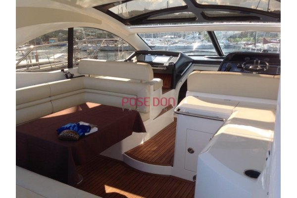 Sunseeker Portofino 48 - 2011 - hard top de cristal
