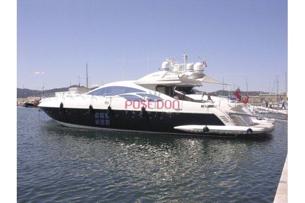 Azimut 86 S - 2007 - Poste de pilotage