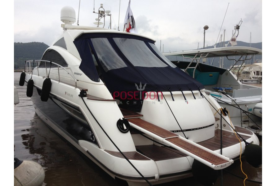Fairline Targa 47 Hardtop - 2008 - vista lateral
